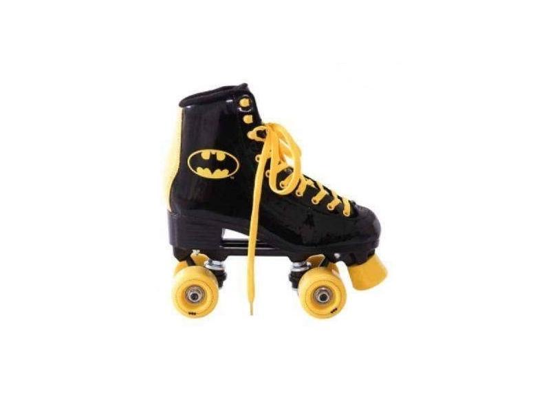 Patins Tradicional 4 rodas Batman Bel Fix Quad Batman