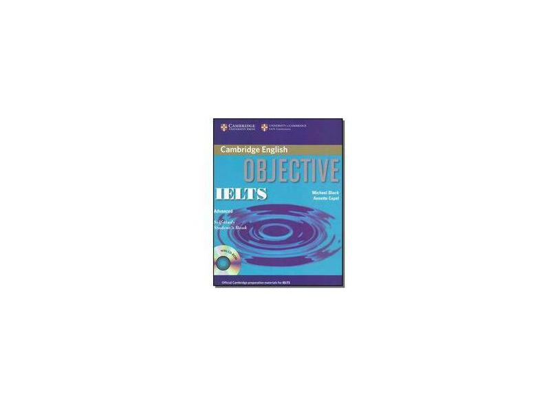 Objective IELTS Advanced Self-Study Students Book with CD-ROM - Michael Black - 9780521608831