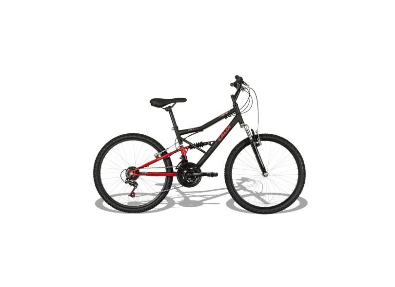 Bicicleta Caloi Infanto-juvenil Shok Aro 24 21 Marchas