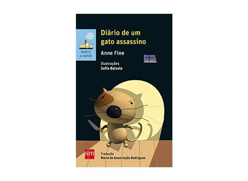 Diário de Um Gato Assassino - Anne Fine - 9788541812054