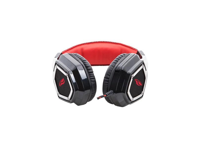 Headset com Microfone C3 Tech Crown PH-G100BK