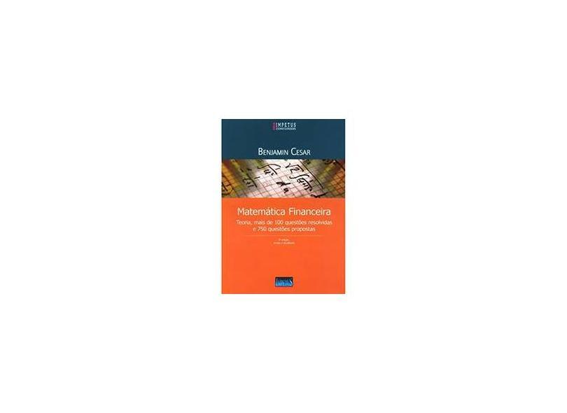 Matemática Financeira - Benjamin Cesar De Azevedo Costa - 9788576265948