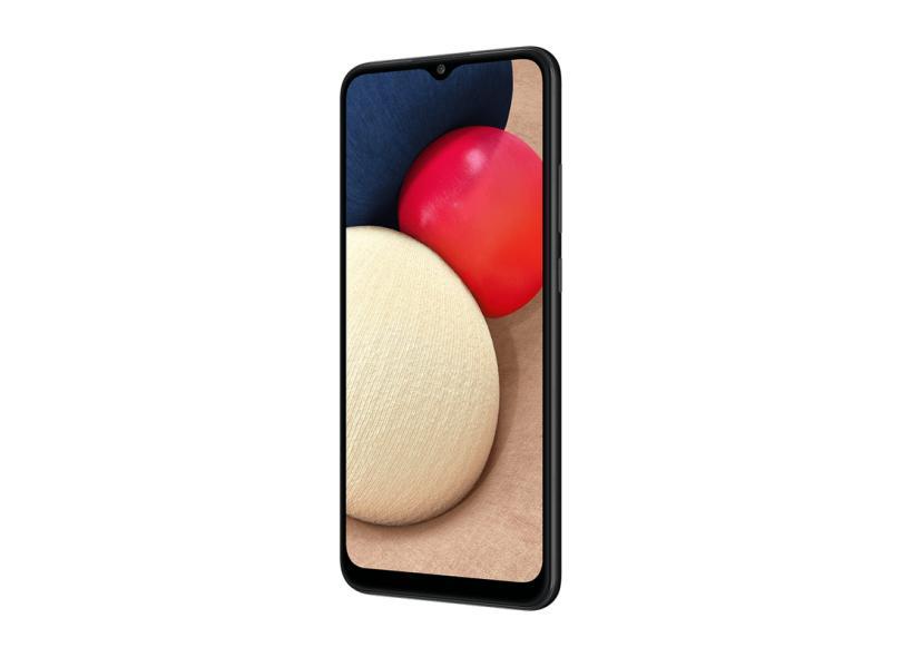 Smartphone Samsung Galaxy A02s SM-A025MZKYZTO 32GB Câmera Tripla Android 10