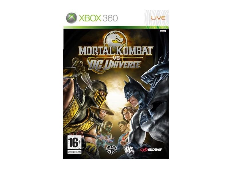 Jogo Mortal Kombat vs DC Universe Midway Xbox 360