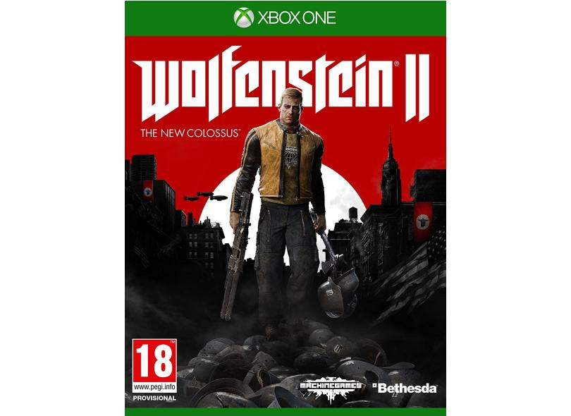 Jogo Wolfenstein The New Colossus II Xbox One Bethesda