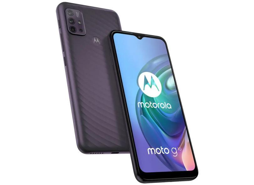 Smartphone Motorola Moto G G10 4GB RAM 64GB Câmera Quádrupla Android 11