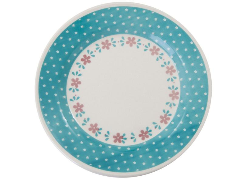 Aparelho de Jantar Redondo de Cerâmica 20 peças - Donna AE27514510 Biona