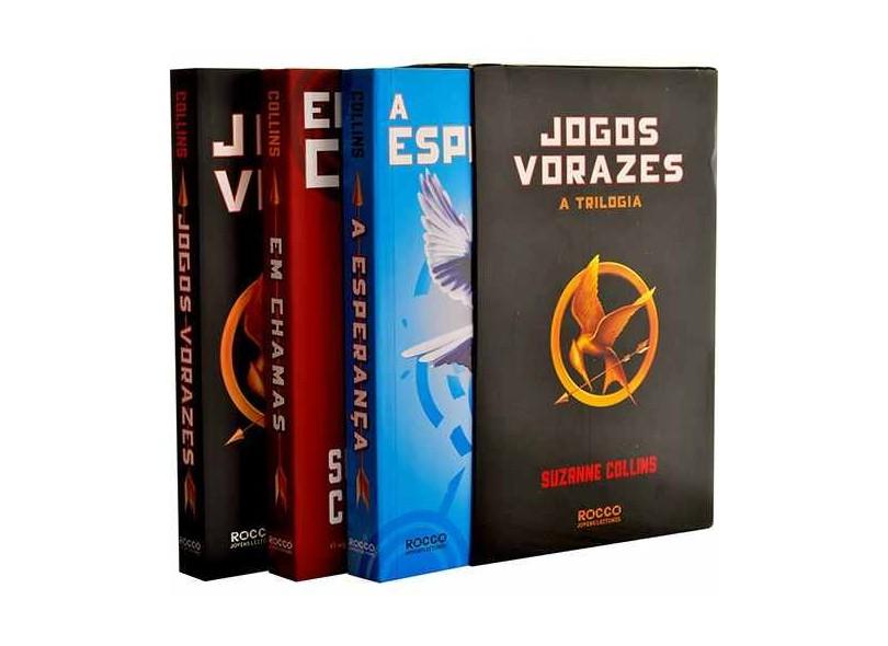 Box Jogos Vorazes - a Trilogia - Collins, Suzanne - 9788532503299