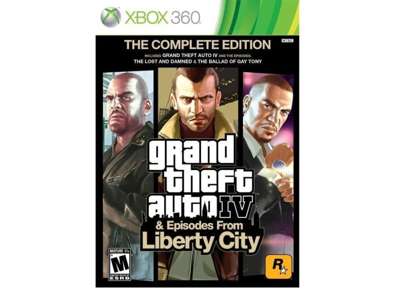 Jogo GTA IV Episodes From Liberty City Rockstar Xbox 360