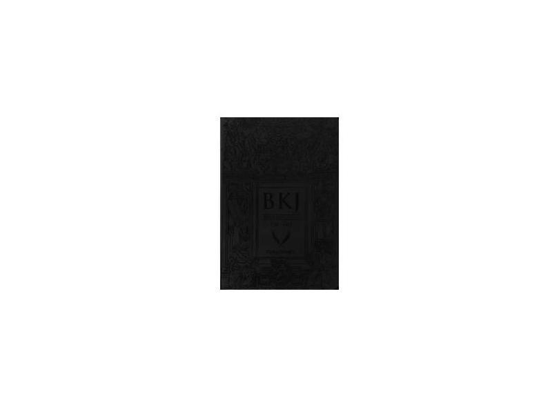 Bíblia King James Fiel 1611 - Ultra Gigante - Capa Luxo Preta - Books,bv - 9788581581699