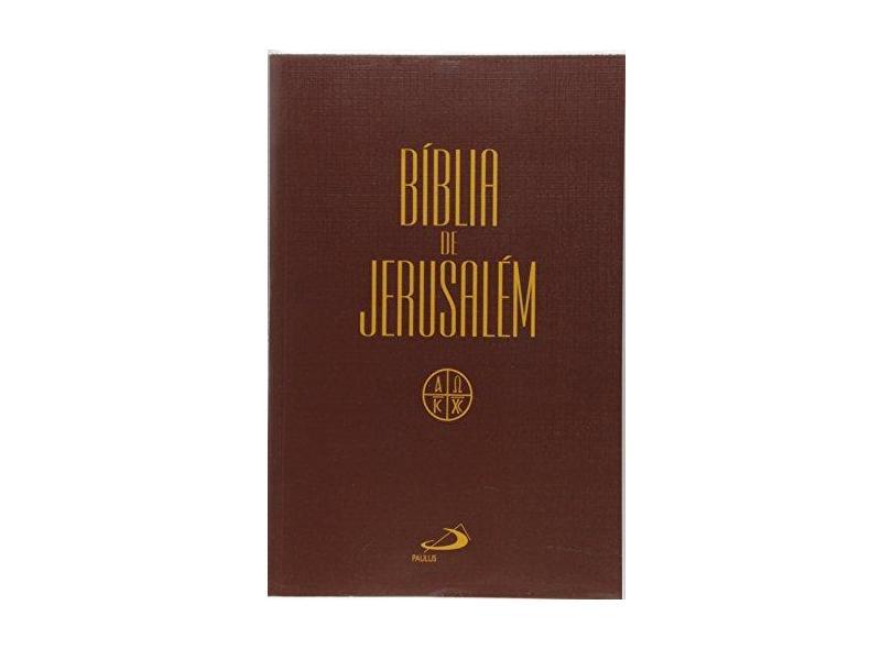 Bíblia de Jerusalém - Média Capa Cristal - Vv.aa. - 9788534942829