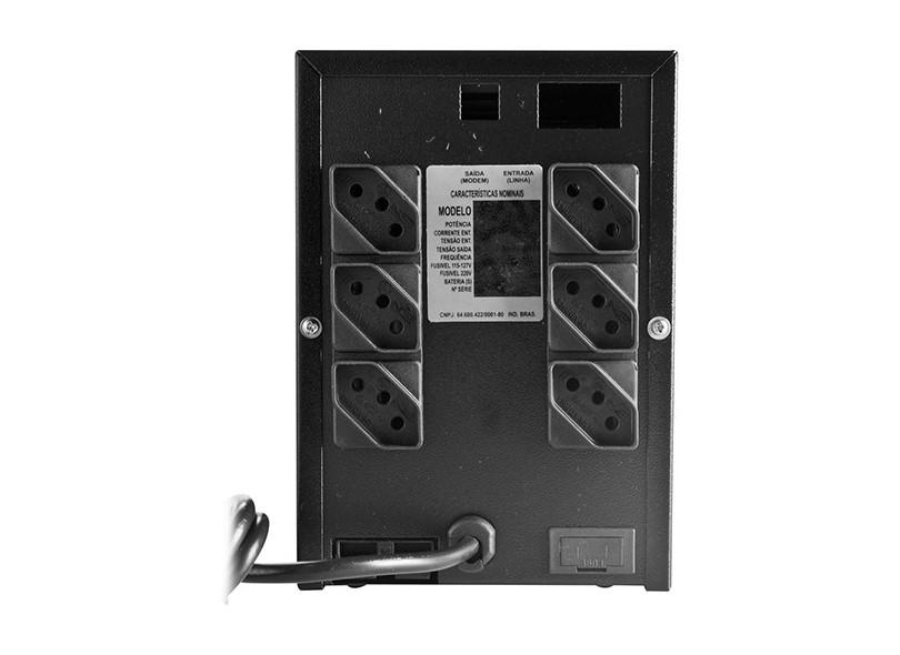 No-Break UPS Compact Pro 1200VA Bivolt - TS Shara