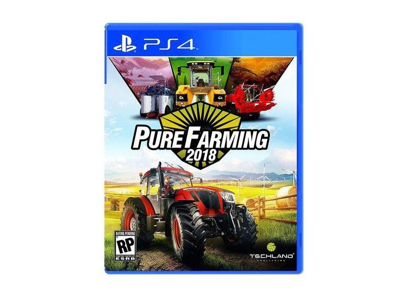 Jogo Pure Farming 2018 PS4 Techland