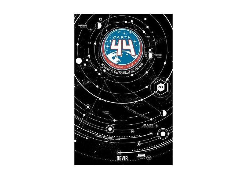 Carta 44. Velocidade de Escape - Volume 1 - Charles Soule - 9788575326237