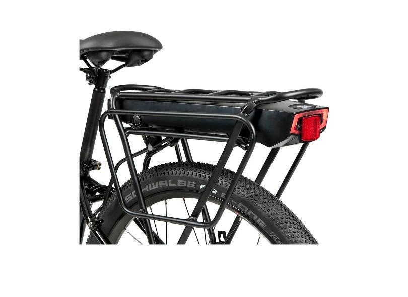 Bicicleta Elétrica Caloi Urban 7 Marchas Aro 27.5 a Disco Hidráulico E-vibe Urbam