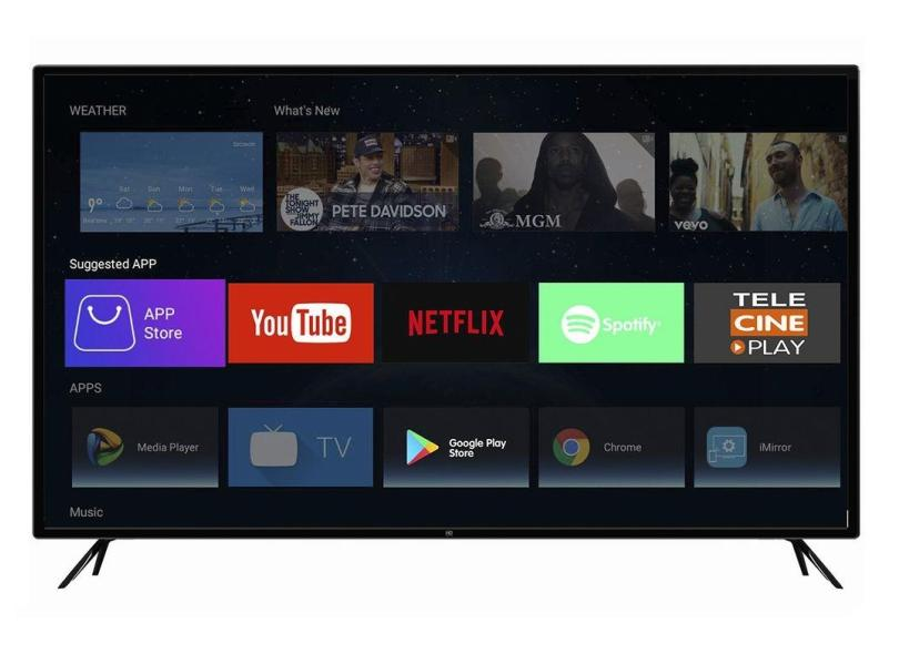 "Smart TV TV LED 50 "" HQ 4K Netflix HQSTV50NY 3 HDMI"