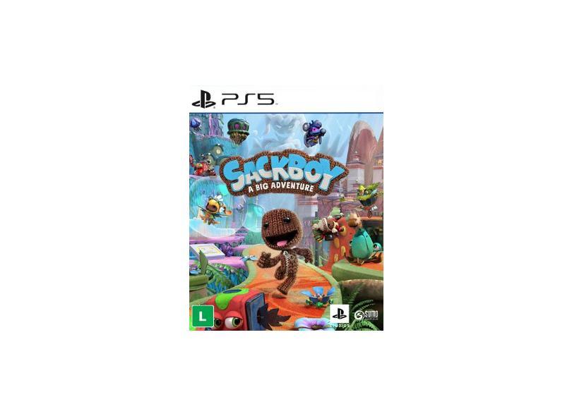 Pré-venda Jogo Sackboy: Uma Grande Aventura PS5 Sumo