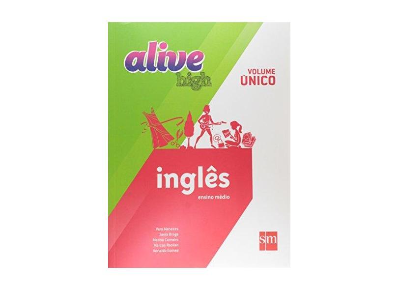 Alive High: Inglês Ensino Médio - Volume Único - Diversos - 9788541805933