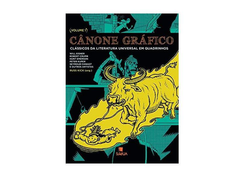 Canone Gráfico - Vol. 1 - Kick, Russ - 9788575593998