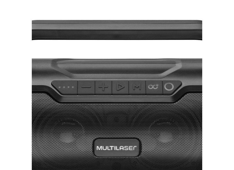 Caixa de Som Bluetooth Multilaser Bazooka SP339 TWS 180 W
