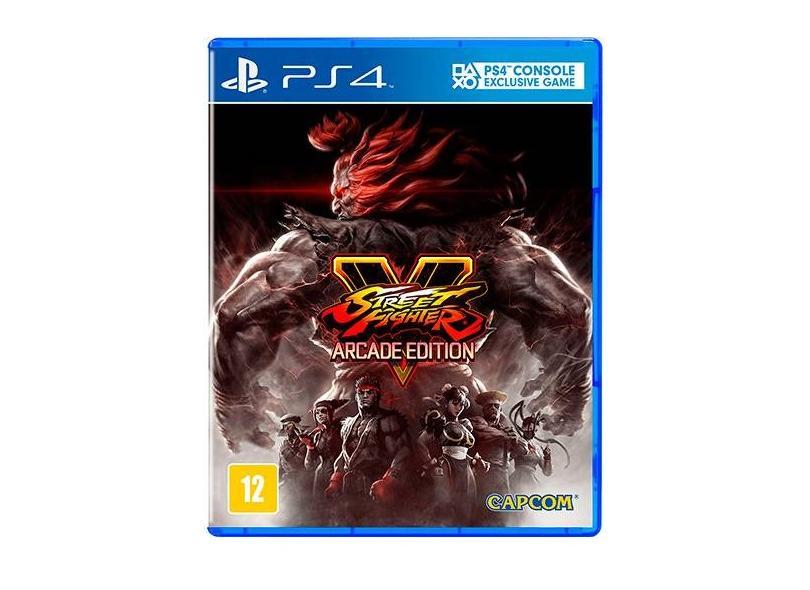Jogo Street Fighter V Arcade Edition PS4 Capcom