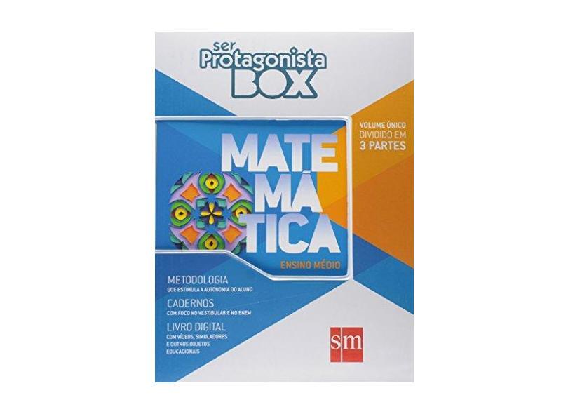Ser Protagonista. Matemática. Caderno de Atividades 5 - Caixa - Felipe Fugita - 9788541810531