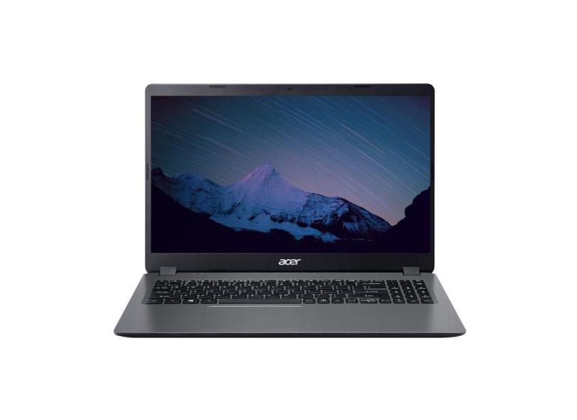 """Notebook Acer Aspire 3 Intel Core i3 1005G1 10ª Geração 8.0 GB de RAM 1024 GB 15.6 """" Windows 10 A315-56-34A9"""