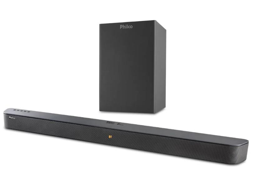Home Theater Soundbar Philco 420 W 2.1 Canais 1 HDMI PSB04T