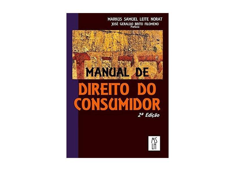 Manual de Direito do Consumidor - Markus Samuel Leite Norat - 9788592348717