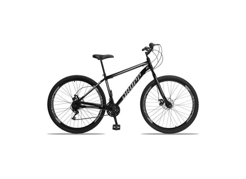 Bicicleta Dropp 21 Marchas Aro 29 a Disco Mecânico Sport Aço