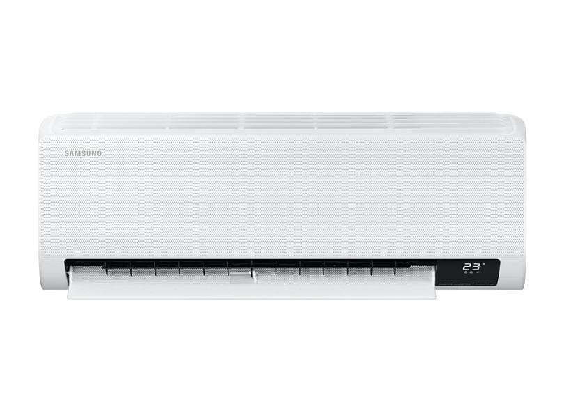 Ar-Condicionado Split Hi Wall Samsung Wind Free 12000 BTUs Inverter Controle Remoto Quente/Frio AR12TSHCBWKNAZ