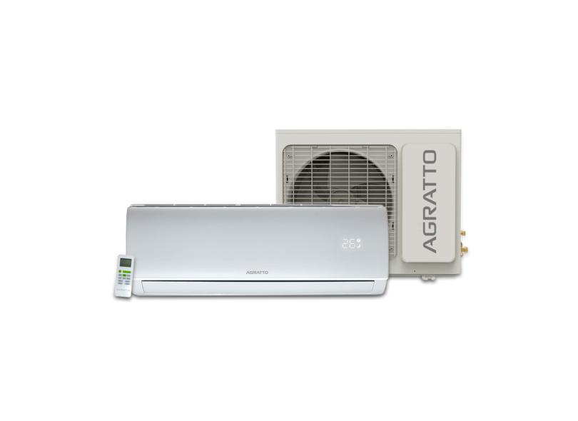 Ar Condicionado Split Hi Wall Agratto Eco 22000 BTUs Controle Remoto Frio ECS22FR4-02