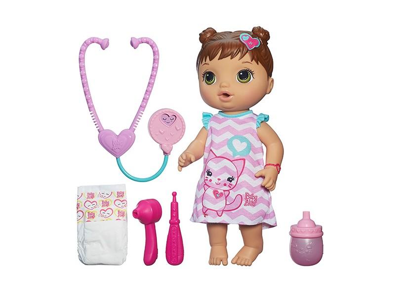 Boneca Baby Alive Cuida de Mim B5159 Hasbro