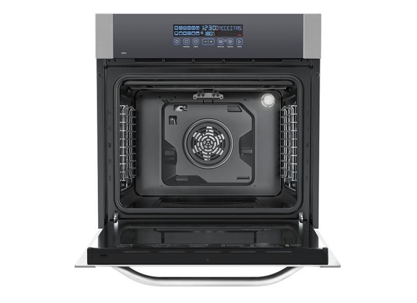 Forno de Embutir Elétrico Electrolux 80 l Inox OE8TX