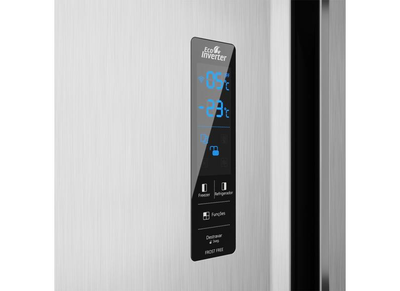 Geladeira Philco Eco Inverter Frost Free Side by Side 437 l PRF533I