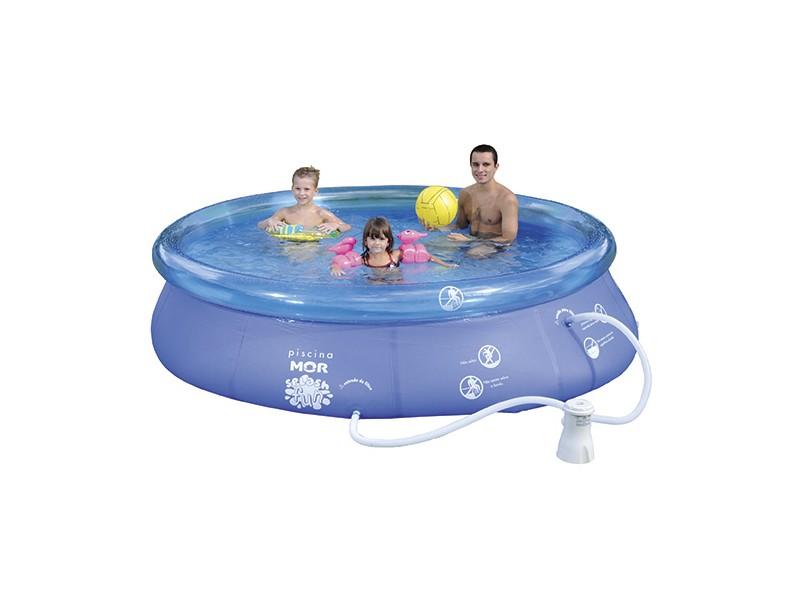 Piscina Inflável 4600 l Redonda Mor Splash Fun 1065