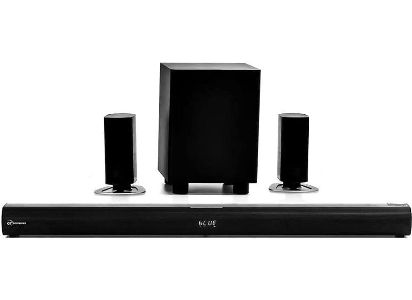 Home Theater Soundbar Goldentec 280 W 5.1 Canais 1 HDMI GS-SB60