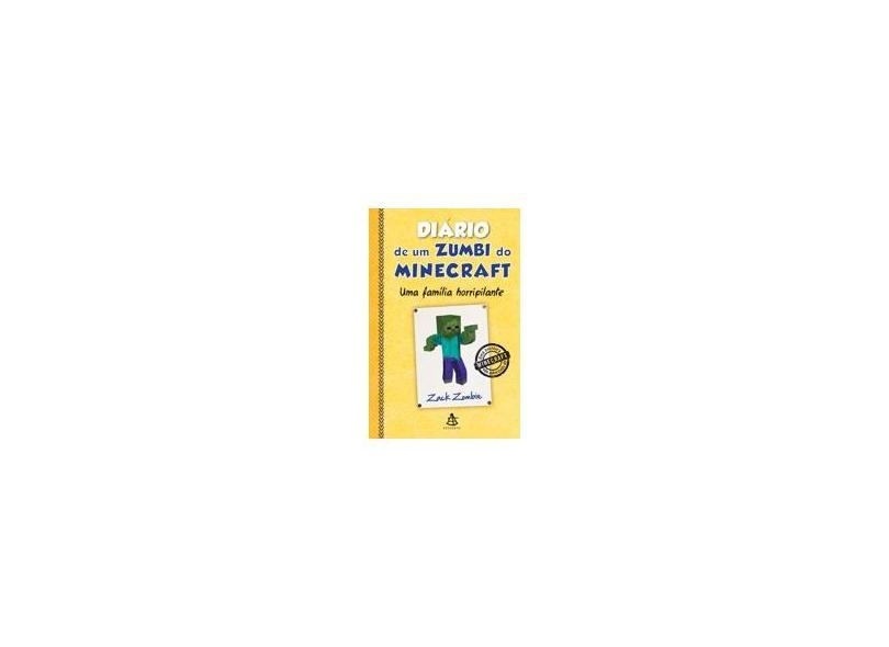 Diário de Um Zumbi do Minecraft - Uma Família Horripilante - Herobrine Books - 9788543103839
