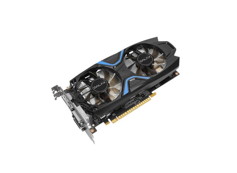 Placa de Video NVIDIA GeForce GTX 1050 2 GB GDDR5 128 Bits Galax 50NPH8DVN6EC