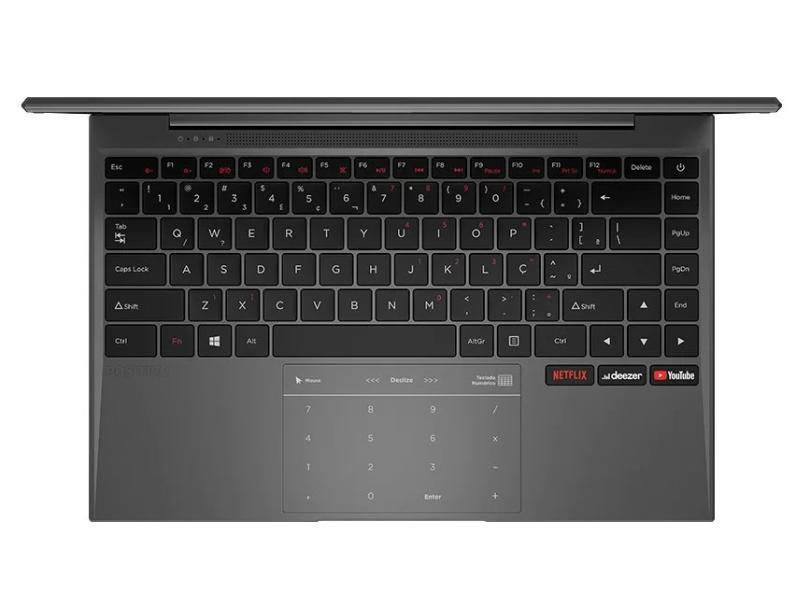 """Notebook Positivo Motion Intel Celeron Dual Core 4 GB de RAM 64.0 GB 14 """" Windows 10"""