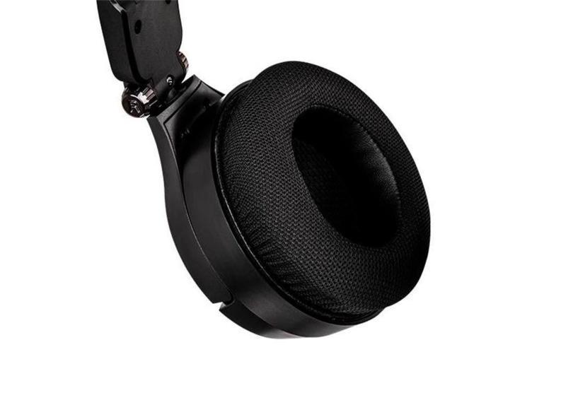 Headset Gamer com Microfone Thermaltake Cronos Riing RGB 7.1 HT-CRA-DIECBK-20