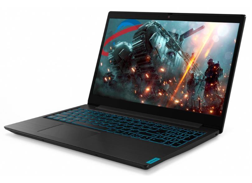 "Notebook Gamer Lenovo IdeaPad L340 Intel Core i5 9300H 9ª Geração 8.0 GB de RAM 480.0 GB 15.6 "" Full GeForce GTX 1050 Windows 10 81TR0002BR"