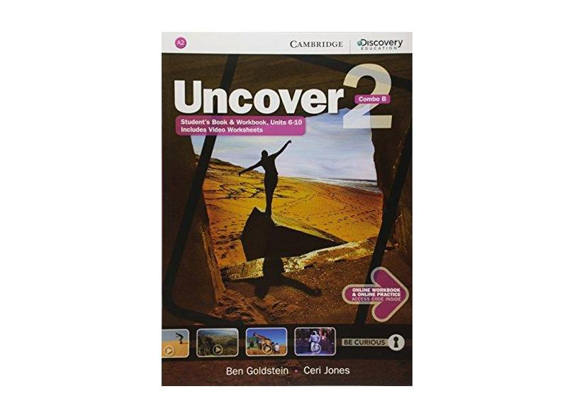 Uncover Level 2 Combo B with Online Workbook and Online Practice - Ben Goldstein - 9781107515062