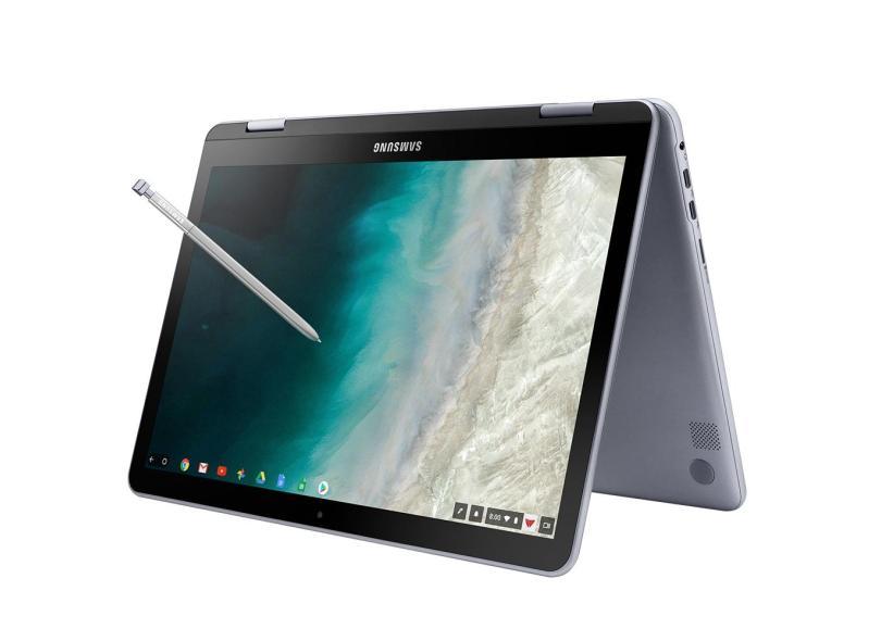 "Notebook Conversível Samsung Chromebook Plus Intel Celeron 3965Y 4 GB de RAM 32.0 GB 12.2 "" Full Touchscreen Chrome OS Chromebook Plus"