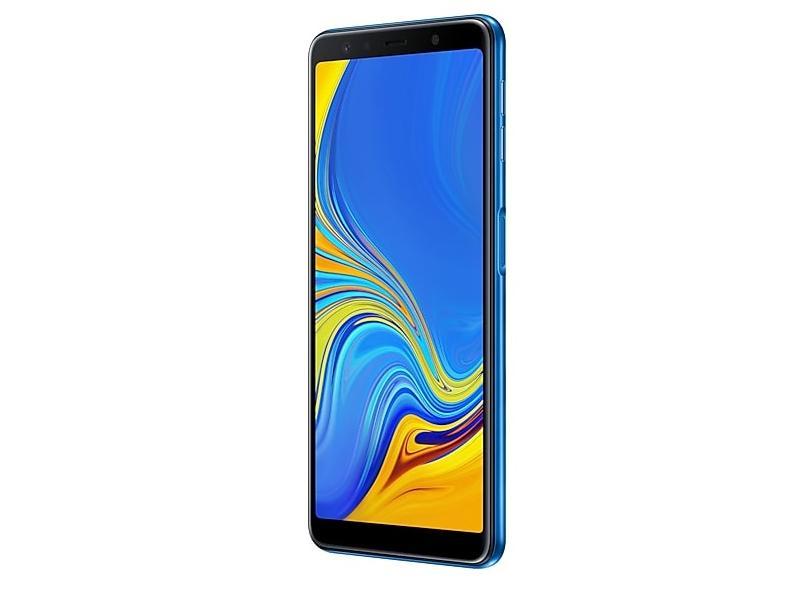 Smartphone Samsung Galaxy A7 2018 SM-A750G 64GB 24,0 MP Android 8.0 (Oreo) 3G 4G Wi-Fi