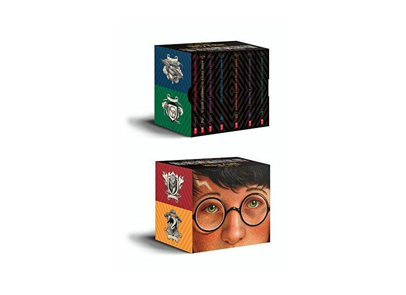 """Harry Potter - Books 1-7 Special Edition Boxed Set - """"selznick, Brian"""" - 9781338218398"""