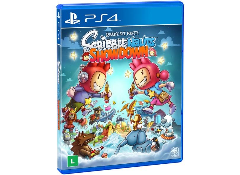 Jogo Scribblenauts Showdown PS4 Warner Bros