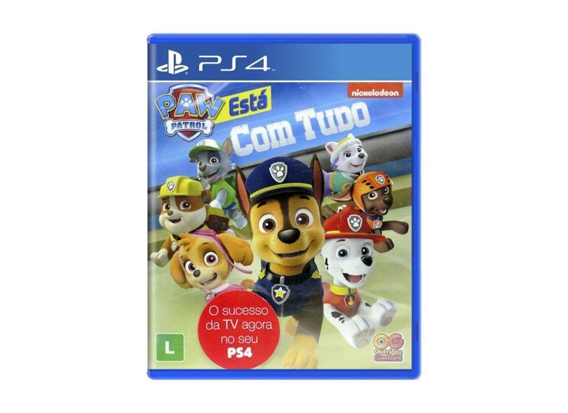 Jogo A Patrulha Canina: Está com Tudo PS4 Outright Games
