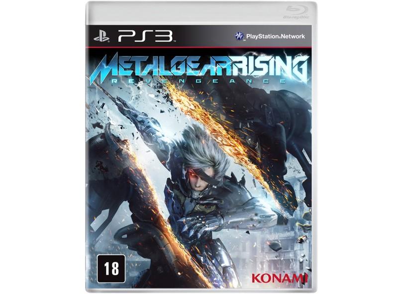 Jogo Metal Gear Rising: Revengeance Konami PlayStation 3