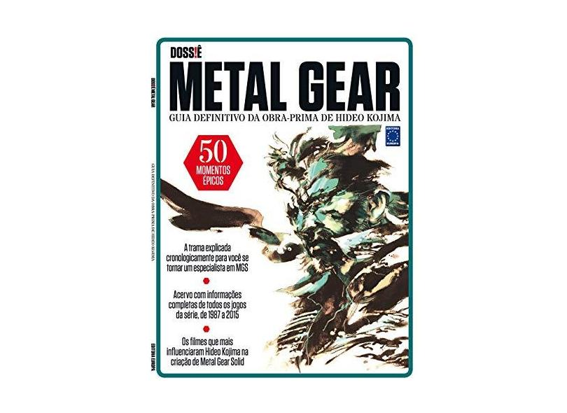 Dossiê Metal Gear - Editora Europa - 9788579603167